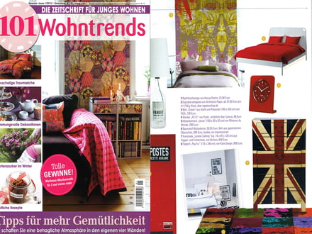 Presse 101 Wohntrends Cover Nr. 1 2012/2013