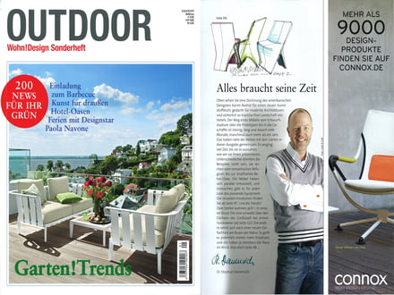Wohn!Design Sonderheft Outdoor - Cover +Artikel