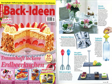 Back Ideen - Nr. 2 / 2013 Cover + Artikel