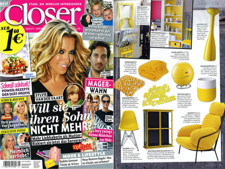 Closer - Mai 2013 Cover + Artikel