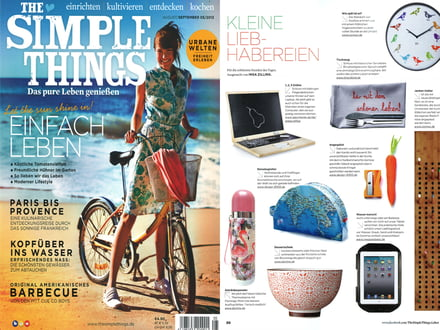"Zeitschrift ""Simple Things"", August/September 2013"