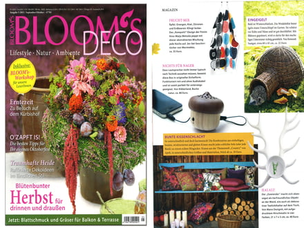 Blooms Deco September / Oktober 2015