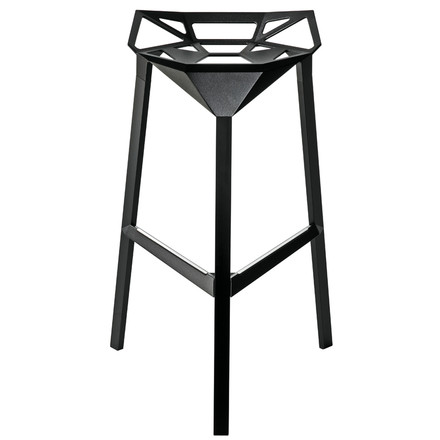 Magis - Stool One Barhocker in Schwarz