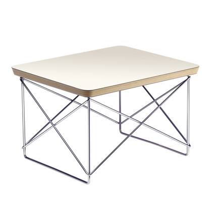 Eames Occasional Table LTR von Vitra in weiß
