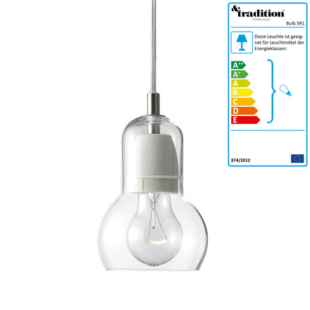 &tradition Bulb SR1 - klar