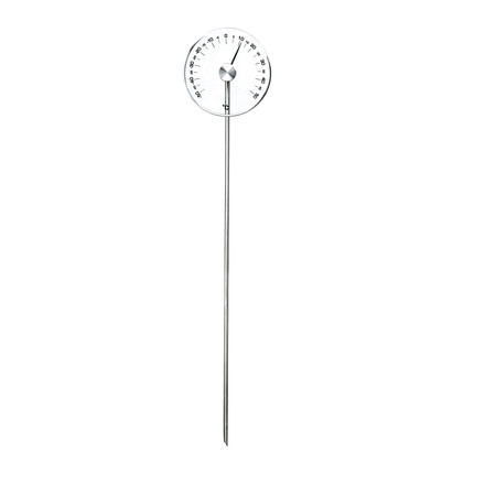 Odin - Garden Disc Glass Gartenthermometer