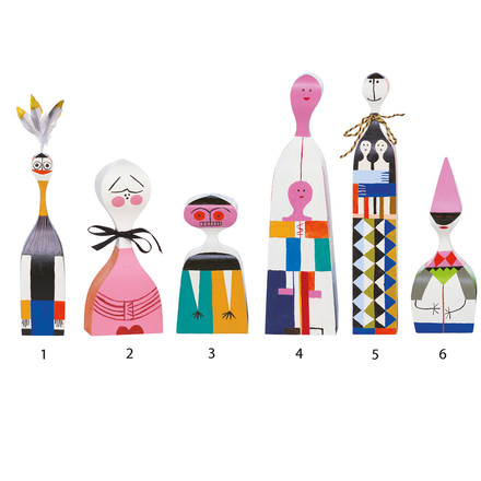 Vitra - Wooden Dolls - Gruppe 1-6