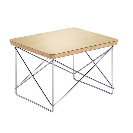 Eames Occasional Table LTR von Vitra in blattgold