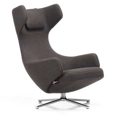 Vitra - Grand Repos Sessel, Cosy black forest