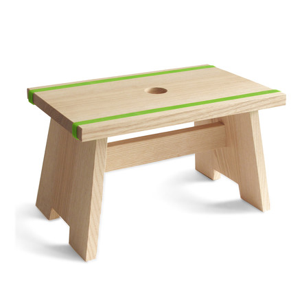 side by side - Fussschemel Little Stool - grün