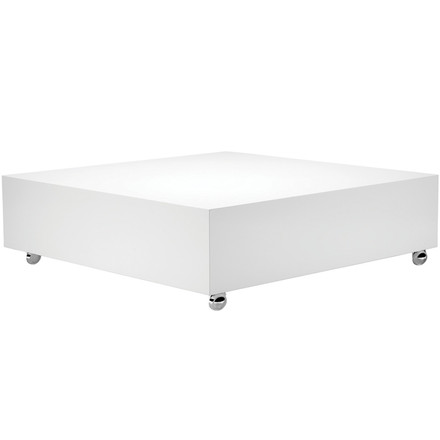 Verpan - Panton Low Lounge Table, weiß