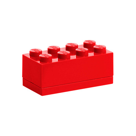 Lego - Mini-Box 8, rot