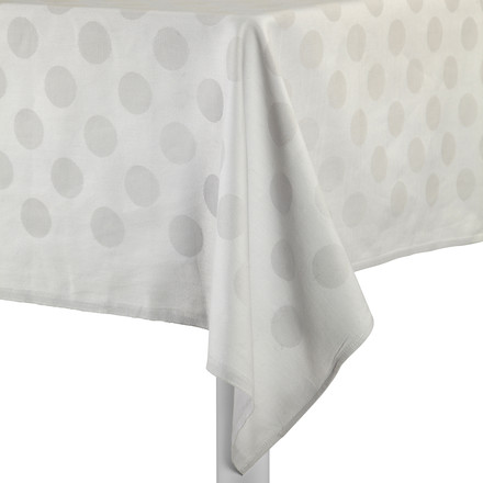 Hay - S&B Tablecloth Dot, grau - Tisch