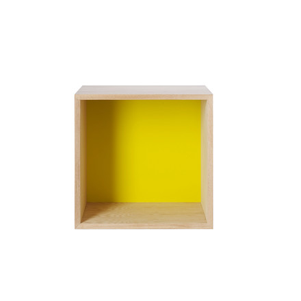 Muuto, Mini Stacked - Medium, gelb