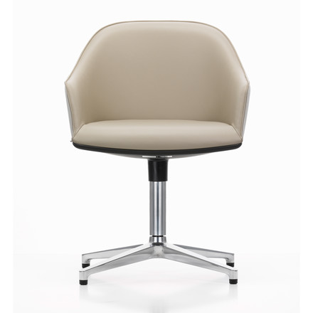 Vitra - Softshell Chair Four Star Base Front