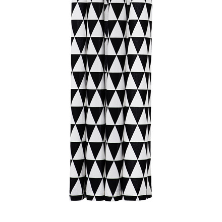 Ferm Living - Duschvorhang, Shower Curtain, Triangle