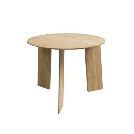 Hay - Elephant Table, Tisch, Eiche, Ø 50 cm