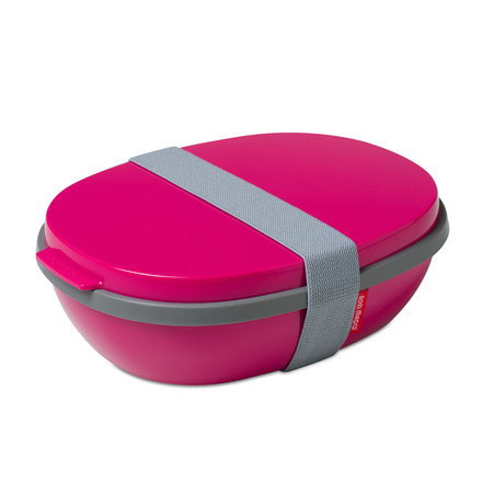 Rosti Mepal - To Go Elipse Lunchbox, Rubine Red