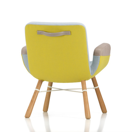 Vitra - East River Chair, gelb