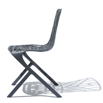 Knoll - Washington Skeleton Chair, Aluminium schwarz