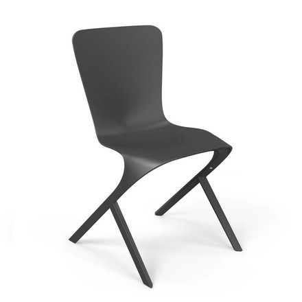 Knoll - Washington Skin Chair, schwarz