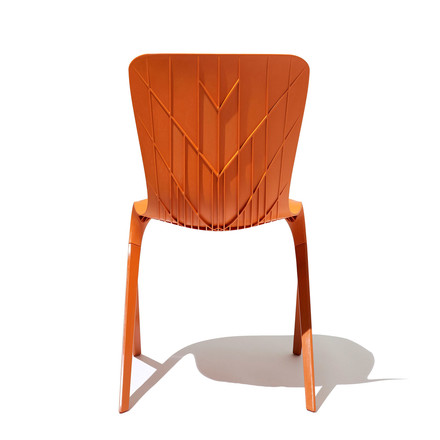 Knoll - Washington Skin Chair, orange