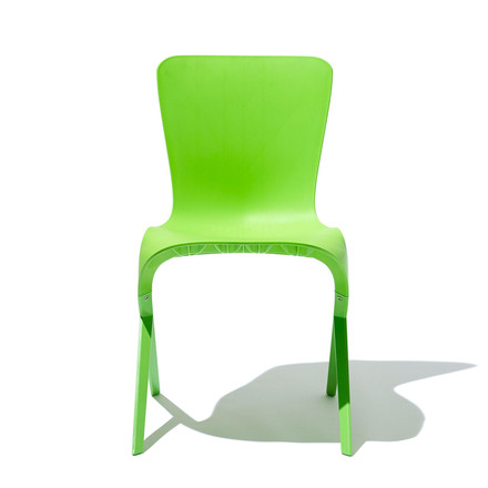 Knoll - Washington Skin Chair, gruen