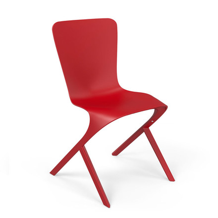 Knoll - Washington Skin Chair, rot