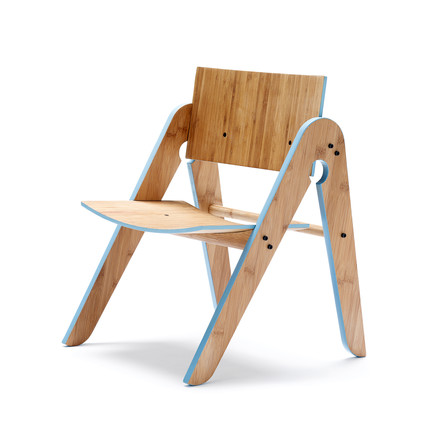 We do wood - Lilly's Chair, hellblau