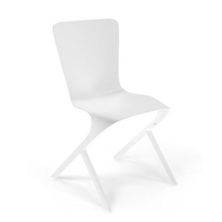 Knoll - Washington Skin Chair, Nylon weiß