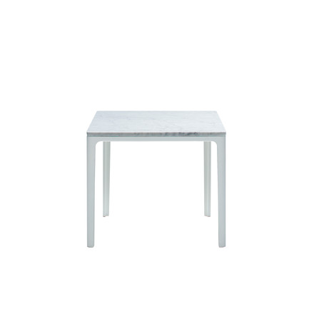 Vitra - Plate Table 370 x 400 x 400 mm, Carrara Marmor