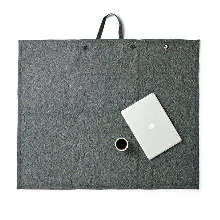 Menu - Picknick Decke 100 x 120 cm, dark grey