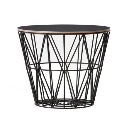 Wire Basket von ferm Living mit Top