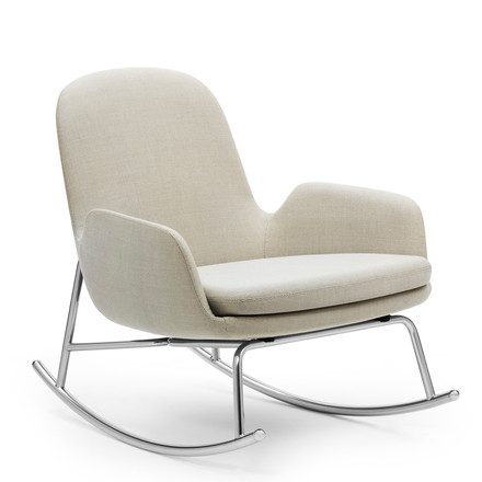 Normann Copenhagen - Era Rocking Chair low, breeze fusion, Seite