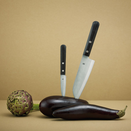Stelton - Rig-Tig Easy Messer, in Aubergine