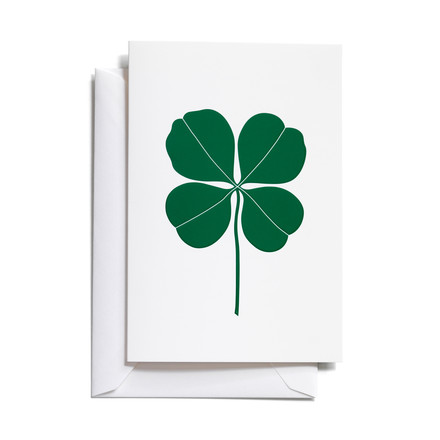 Vitra - Greeting Cards, Four Leaf Clover