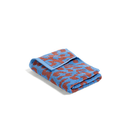 Hay - He She It Towel in Himmelblau und Zimt