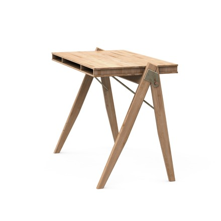We Do Wood - Field Desk von der Seite