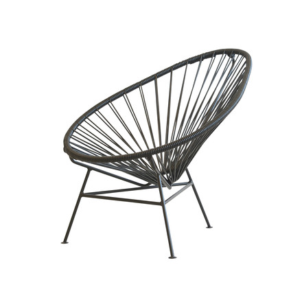 OK Design - The Acapulco Mini Chair, schwarz