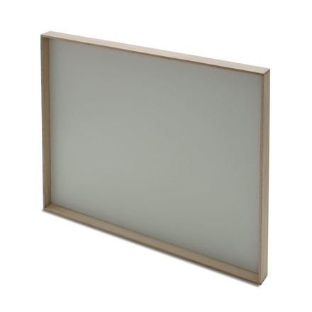 Skagerak - Notice Board in Silver White
