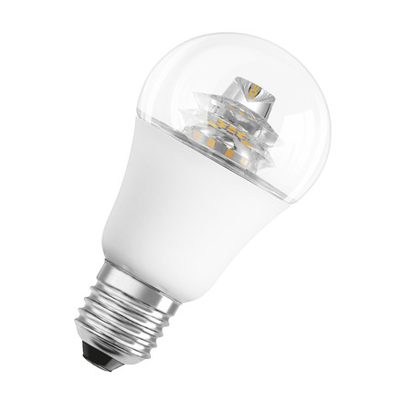 Osram - LED Superstar Classic A 60 advanced, E27, clear sparkl.