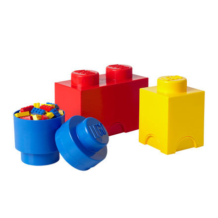 Lego - Storage Brick Multipack 3er-Set