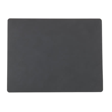 Table Mat Square L 35 x 45 cm von LindDNA in Nupo anthrazit 1,2 mm