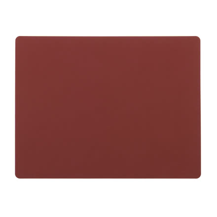 Table Mat Square L 35 x 45 cm von LindDNA in Nupo rot