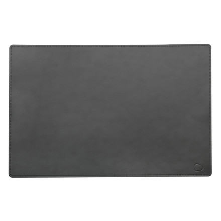 Work Mat Square XXL 54 x 74 cm aus Cloud-Leder in Anthrazit
