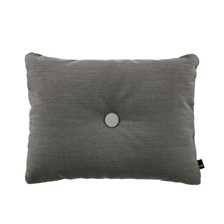 Kissen Dot 45 x 60 cm Steelcut Trio in Dark Grey 153 von Hay