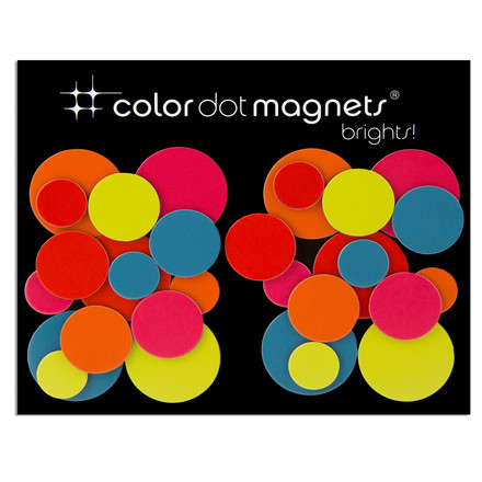 Color Dot Magnete von ThreeByThree im 30er Pack