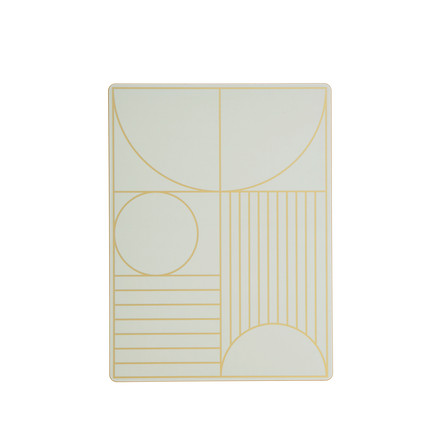 ferm Living - Outline Dinner Mat, mint