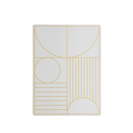 Outline Dinner Mat von ferm Living in Off-White