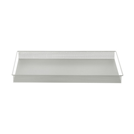 Metal Tray Large von ferm Living in Grau